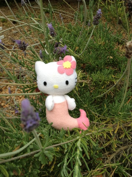 Hello Kitty felt doll