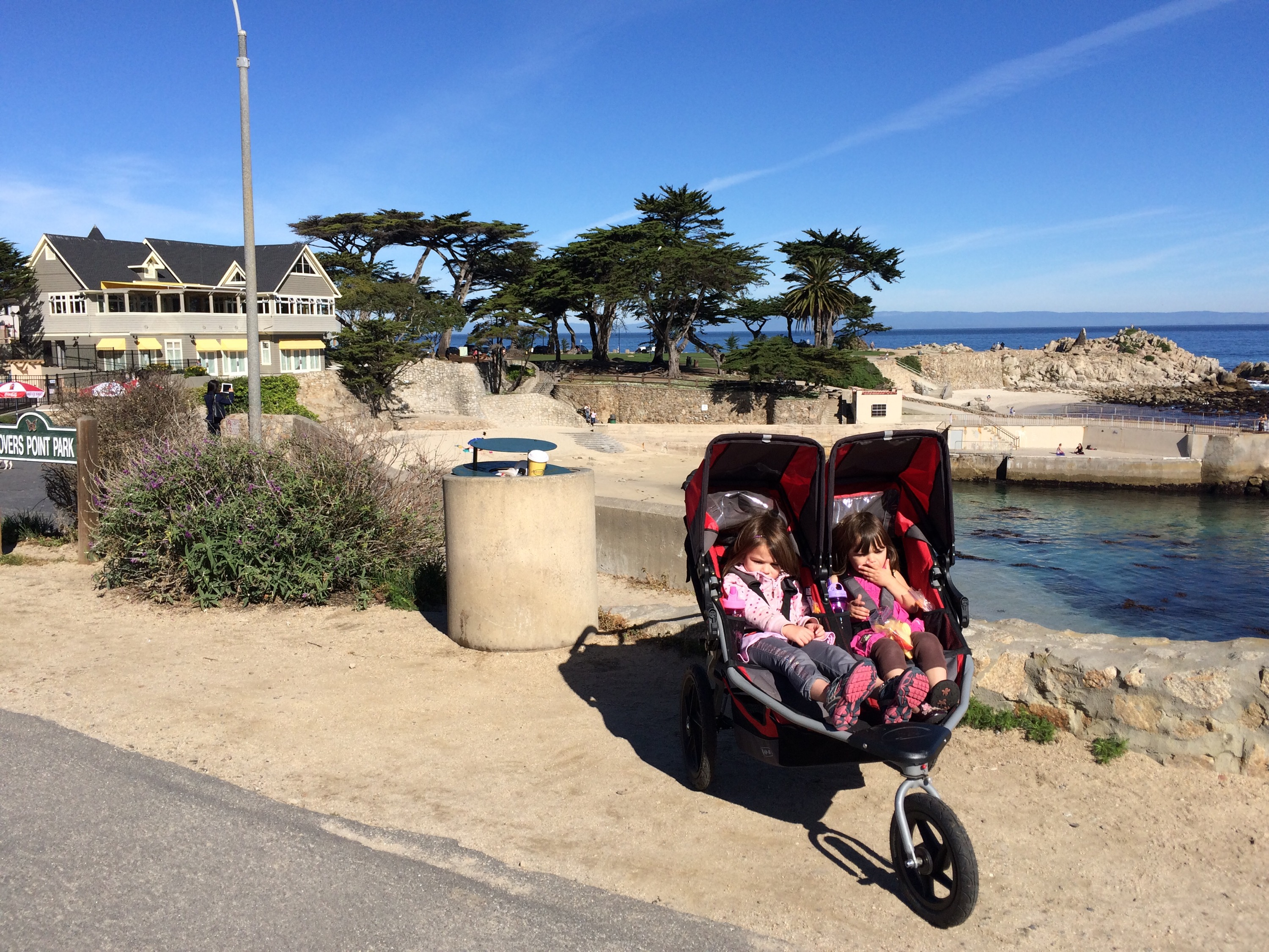 Stroller Run at Lover's Point