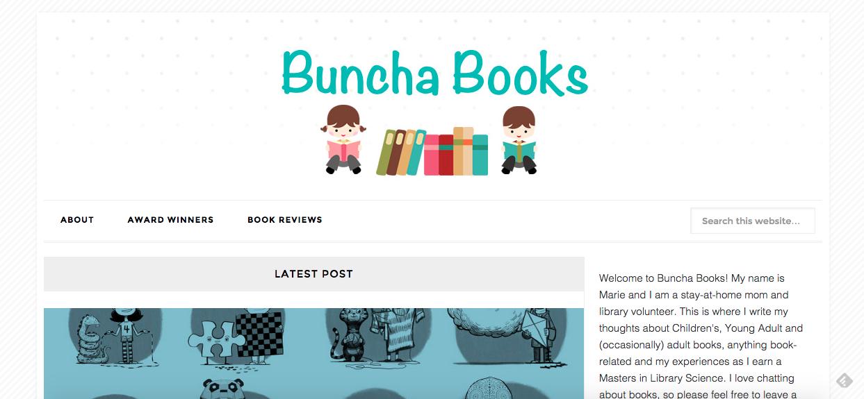 My new book blog